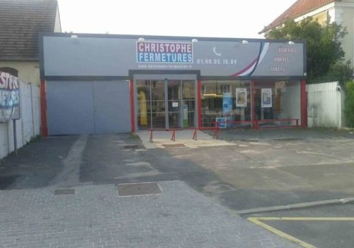 CHRISTOPHE FERMETURES showroom 1