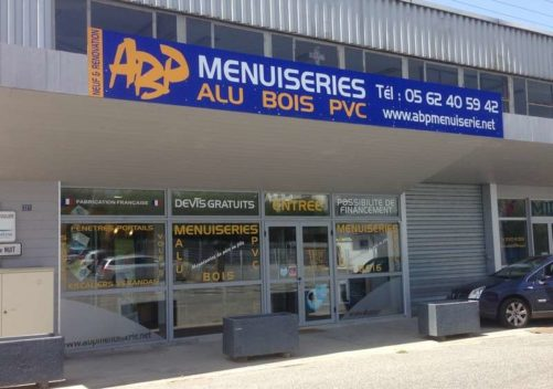 ABP MENUISERIES Lannemezan showroom 1