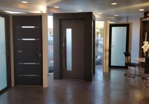 COLOMBEAU ALU showroom 3