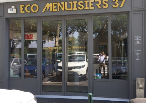 ECO Menuisiers 37             AMBOISE 37400 showroom 2