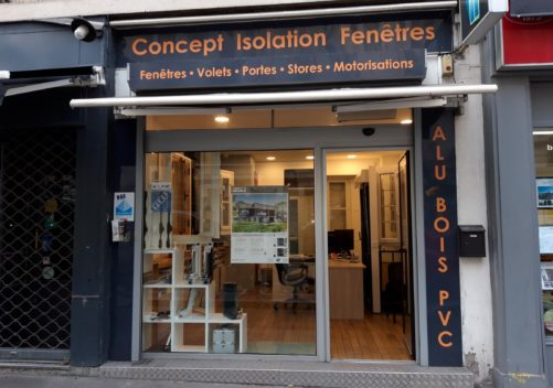 CONCEPT ISOLATION FENÊTRES showroom 1